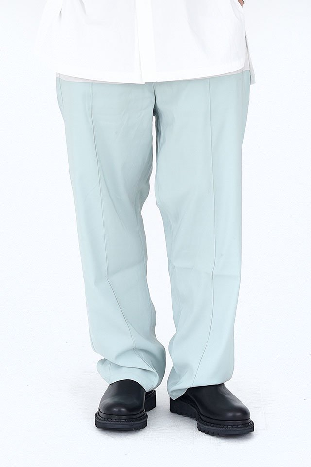 MUZE - EASY SLACKS (MINT GREEN)「ミューズ」[パンツ]