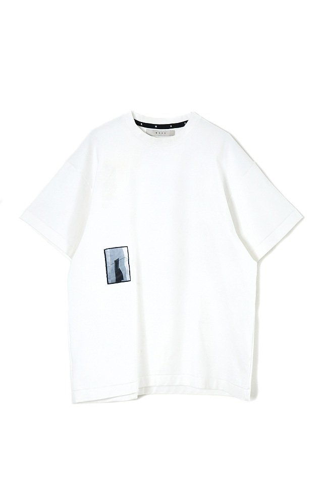 MUZE - REFLECTOR PIECE TEE (WHITE)「ミューズ」[Tシャツ]