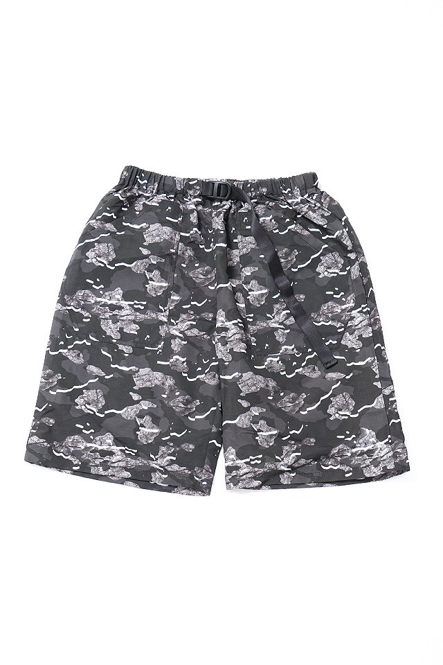 THE TEST - EASY SHORTS (BLACK-CAMO)