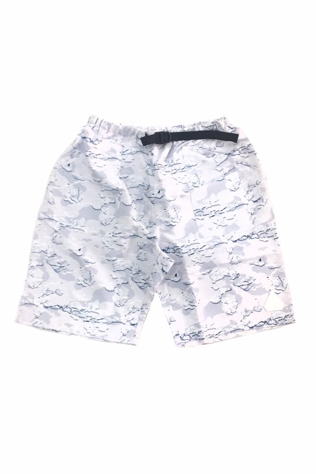 THE TEST - EASY SHORTS (WHITE-CAMO)