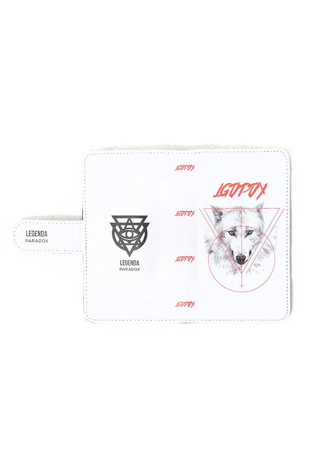 PARADOX×LEGENDA - SMART PHONE CASE (WHITE WOLF)