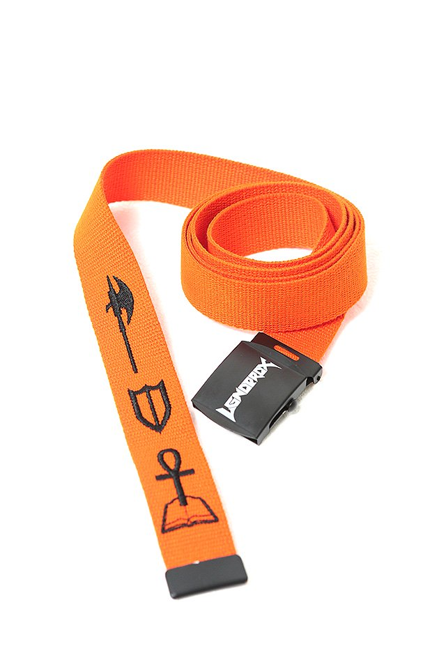PARADOX×LEGENDA - ICON BELT (ORANGE)