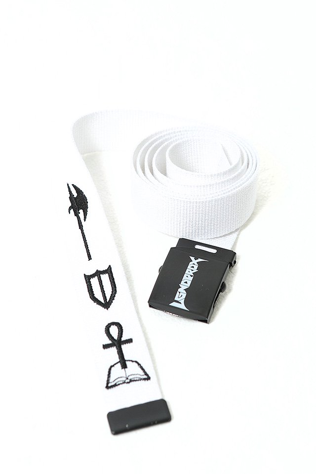 PARADOX×LEGENDA - ICON BELT (WHITE)