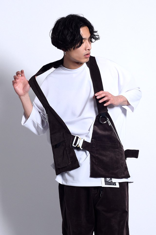 MUZE - IN-VALID VEST(BROWN)「ミューズ」[ベスト]