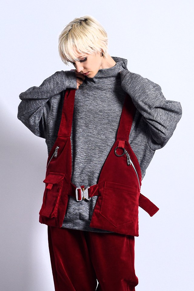 MUZE - IN-VALID VEST(RED)「ミューズ」[ベスト]