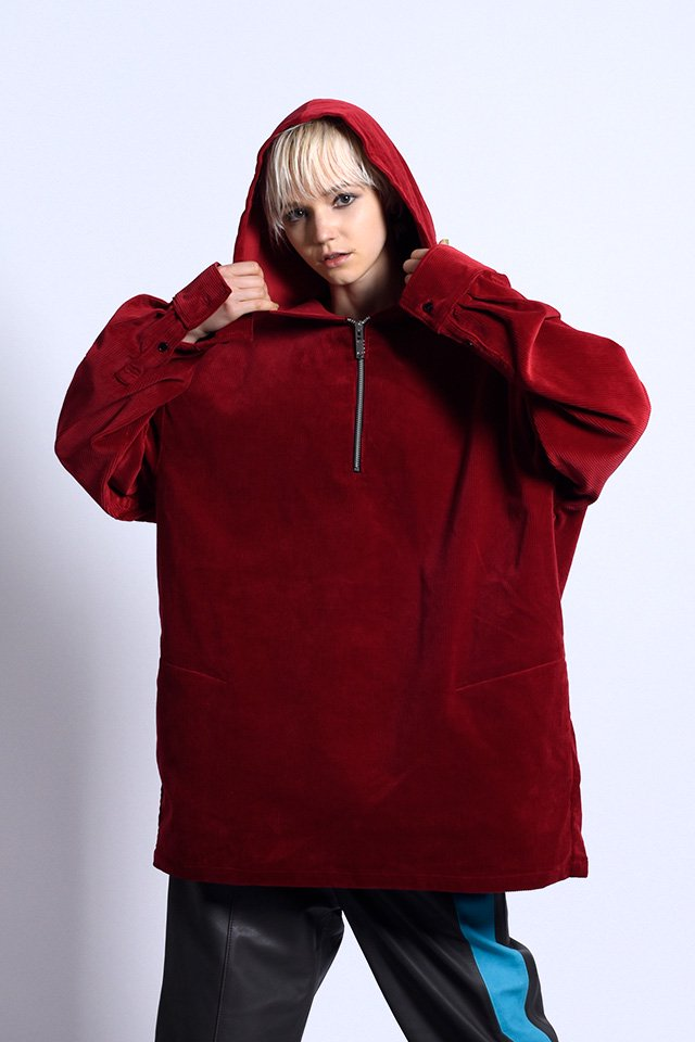 MUZE - IN-VALID PARKA (RED)「ミューズ」[パーカー]