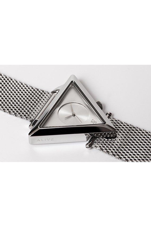ALIVE - A-FRAME FUTURE (All Silver)「アライブ」[ウォッチ]