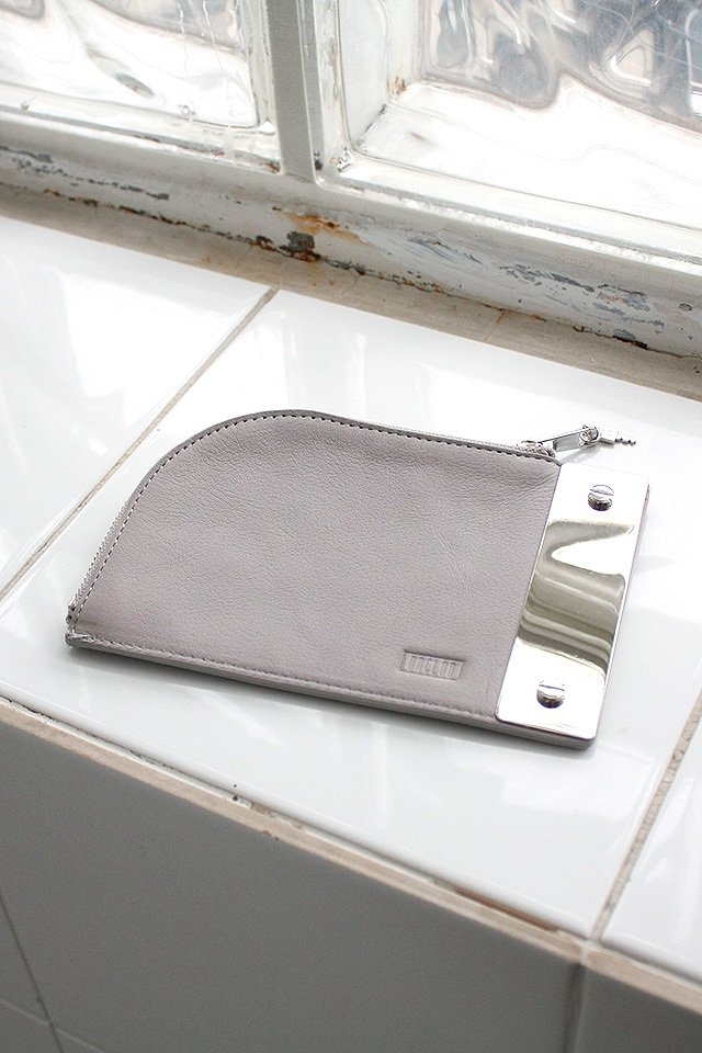 unclod - PILL POUCH (ASH GRAY)「アンクロッド」[ポーチ]