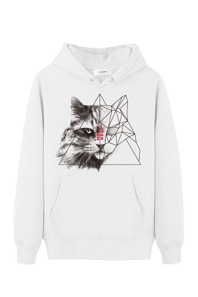 【10%OFF】PARADOX×LEGENDA - PULLOVER PARKA(GEOMETRIC CAT)「パラドックス」[パーカー]