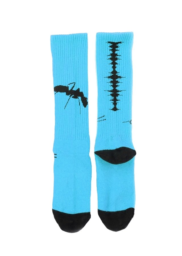 MUZE x Fun - NOISE SOCKS (L.BLUE)「ミューズ」[ソックス]