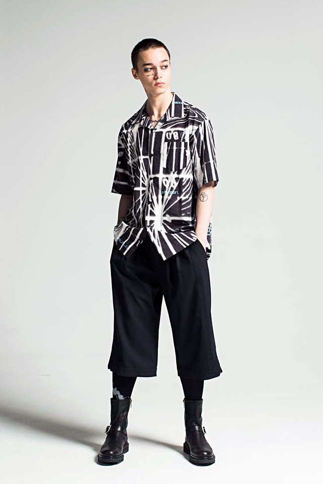 MUZE - GRAPHIC SHIRTS (BLACK)「ミューズ」[シャツ]