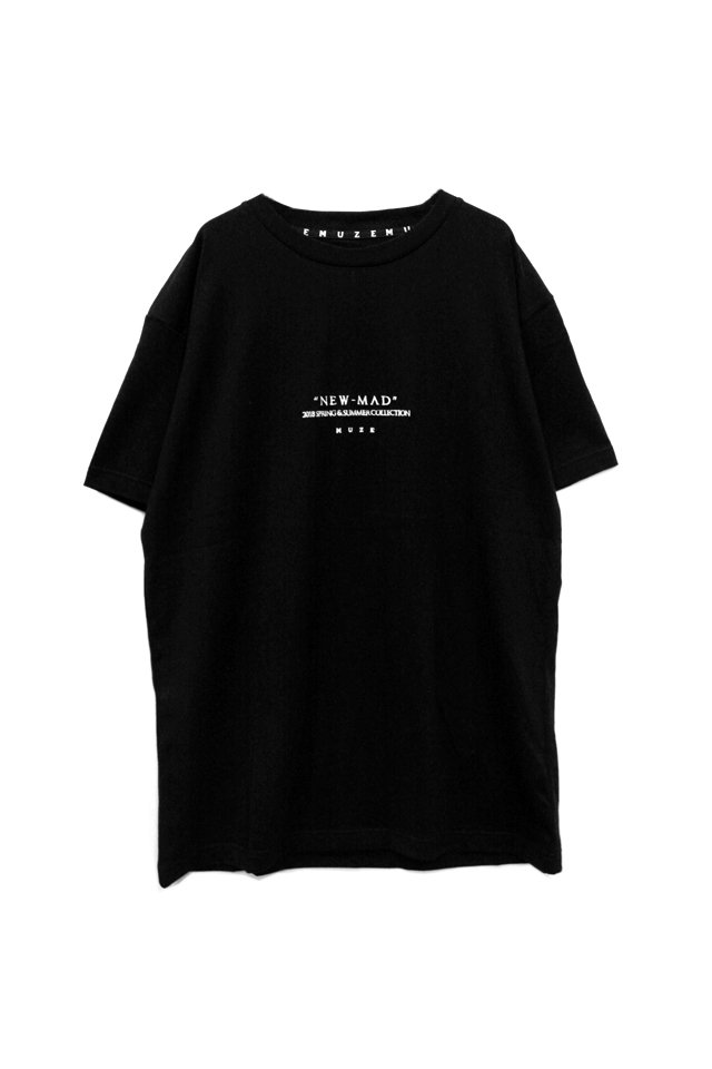 MUZE - NEW MAD TEE(BLACK)「ミューズ」[Tシャツ]