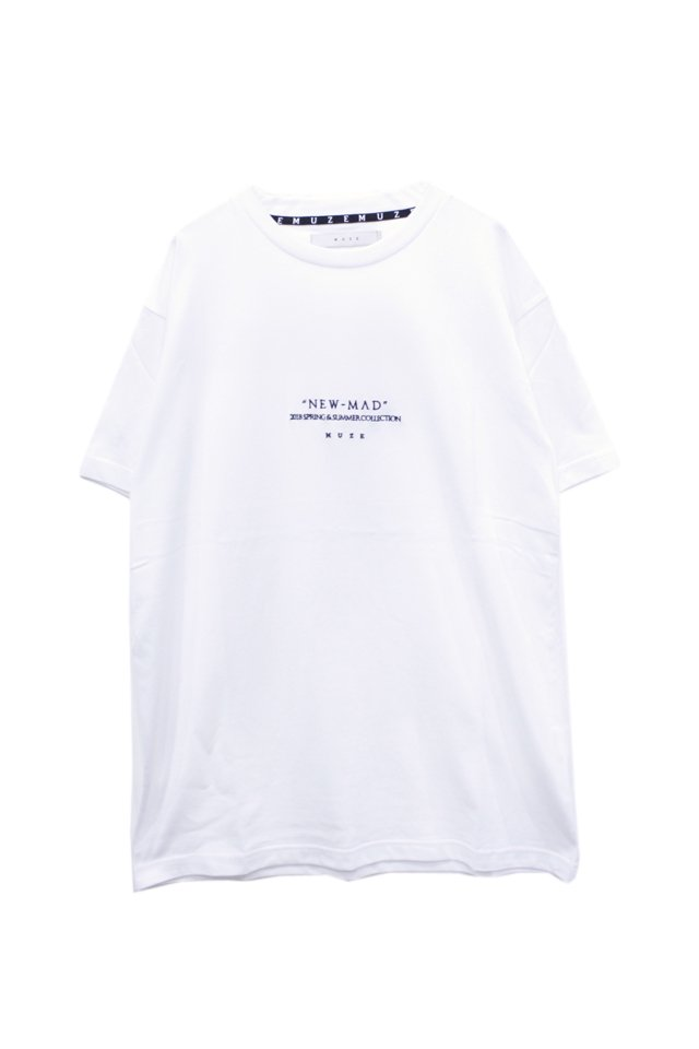 MUZE - NEW MAD TEE(WHITE)「ミューズ」[Tシャツ]