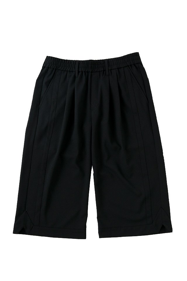 MUZE - BASKET SLACKS (BLACK)「ミューズ」[パンツ]