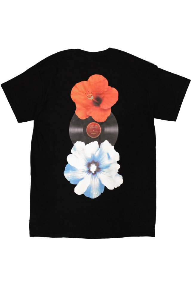 PARADOX×LOYALTY FLOWERS - PRINT S/S TEE(BLACK)「パラドックス」[シャツ]
