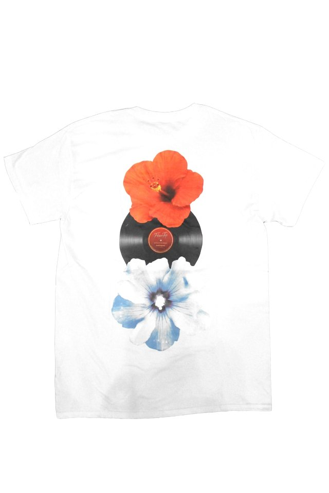 PARADOX×LOYALTY FLOWERS - PRINT S/S TEE(WHITE)「パラドックス」[シャツ]