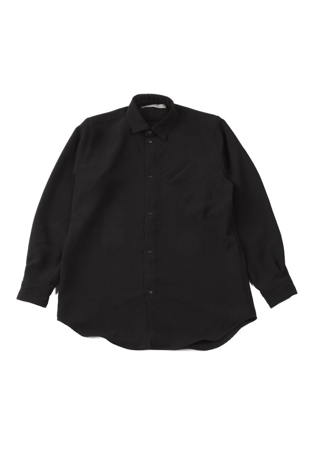 MUZE - URBAN RELAX SHIRTS (BLACK)「ミューズ」[シャツ]