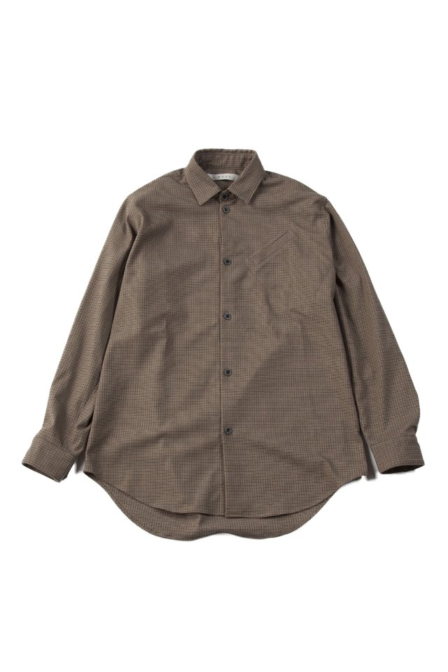 MUZE - URBAN RELAX SHIRTS (BEIGE)「ミューズ」[シャツ]