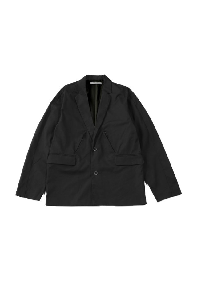 MUZE - URBAN RELAX JACKET (BLACK)「ミューズ」[アウター]