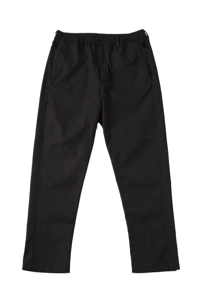 MUZE - URBAN RELAX TROUSERS (BLACK/SLIM)「ミューズ」[パンツ]