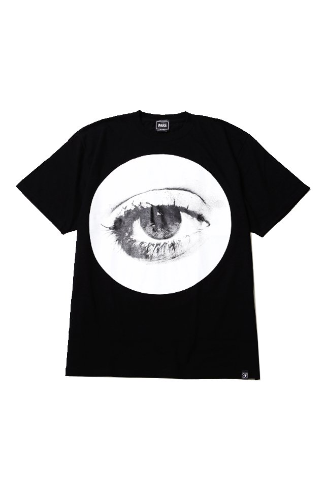SILLENT FROM ME - HOLE TEE (BLACK)「...