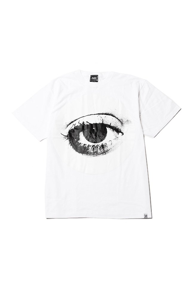 SILLENT FROM ME - HOLE TEE (WHITE)「...