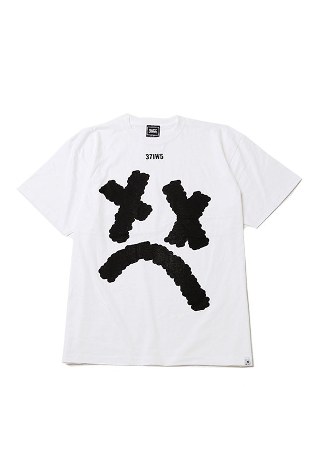 SILLENT FROM ME - SMILE TEE (WHITE)「サイレントフロムミー」[シャツ]