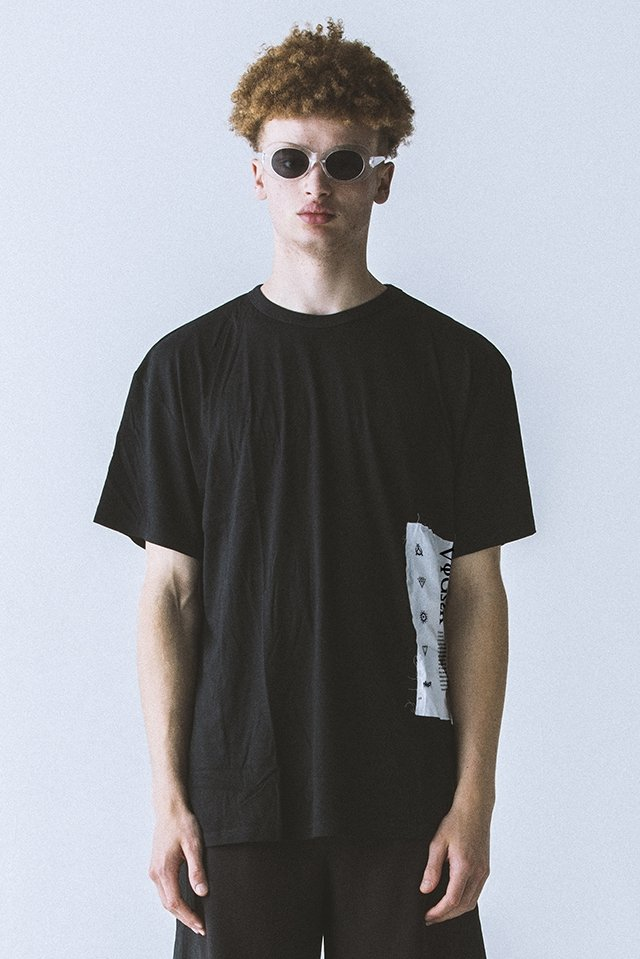 PARADOX - PATCH BIG TEE (DOPAMINE/BLACK)「パラドックス」[シャツ]