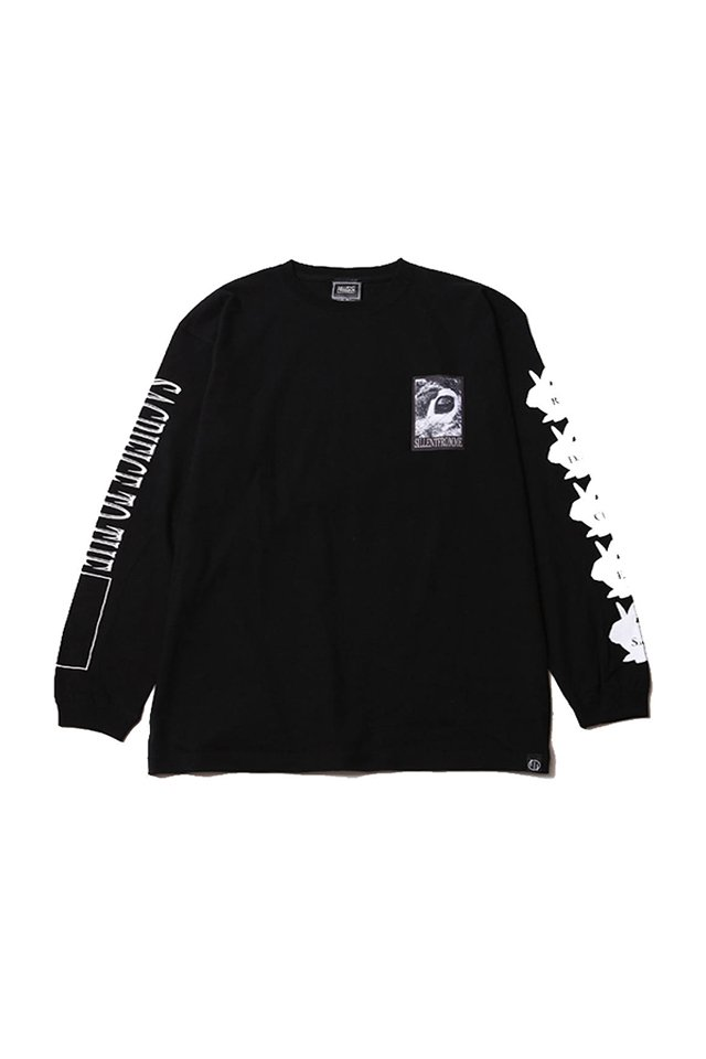 SILLENT FROM ME - SACRIFICE -Long Sleeve- (BLACK)「サイレントフロムミー」[シャツ]