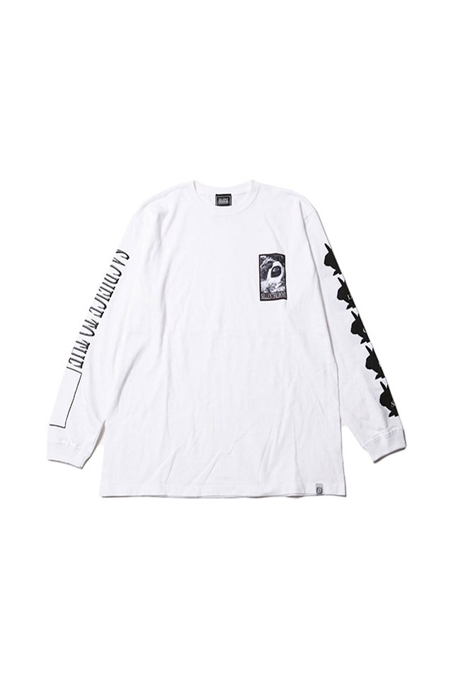 SILLENT FROM ME - SACRIFICE -Long Sleeve- (WHITE)「サイレントフロムミー」[シャツ]