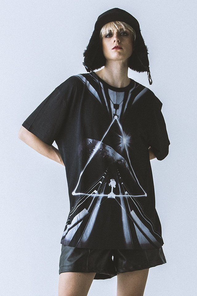 【40%OFF】PARADOX - GRAPHIC BIG TEE (STRUCTURE)「パラドックス」[シャツ]