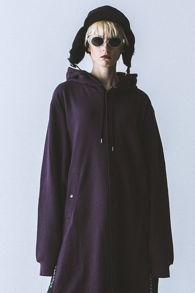 【20%OFF】PARADOX - LONG PARKA(VIOLET) 「パラドックス」 [パーカー]