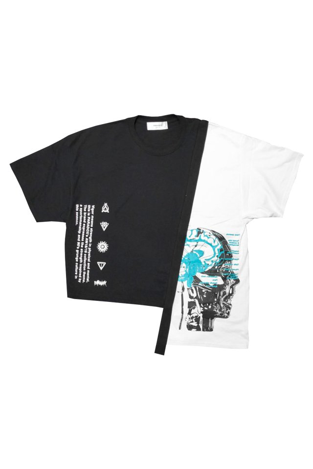 PARADOX - SWITCH TEE (DOPAMINE/BLACK)[パラドックス]「シャツ」