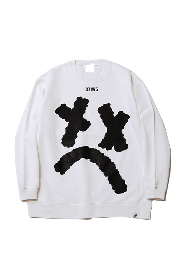 SILLENT FROM ME -Crew Sweat- (WHITE) [サイレントフロムミー]「スウェット」