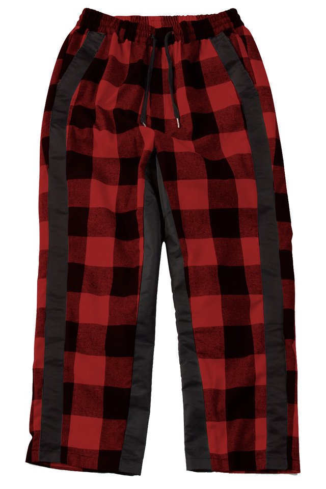 【20%OFF】PARADOX - CHECK PANTS (RED-CHECK) 「パラドックス」 [パンツ]