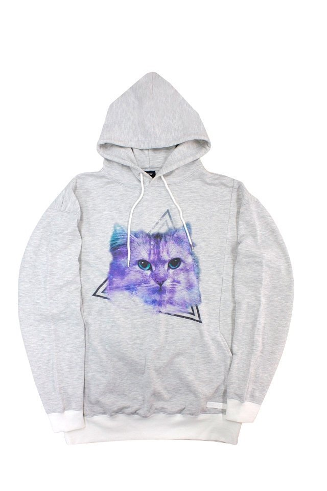 THE TEST - GRAPHIC PARKA (SPACY CAT) 「ザテスト」[パーカー]
