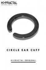CIRCLE EAR CUFF(GUNMETAL BLACK)「フラクタル」[アクセサリ]