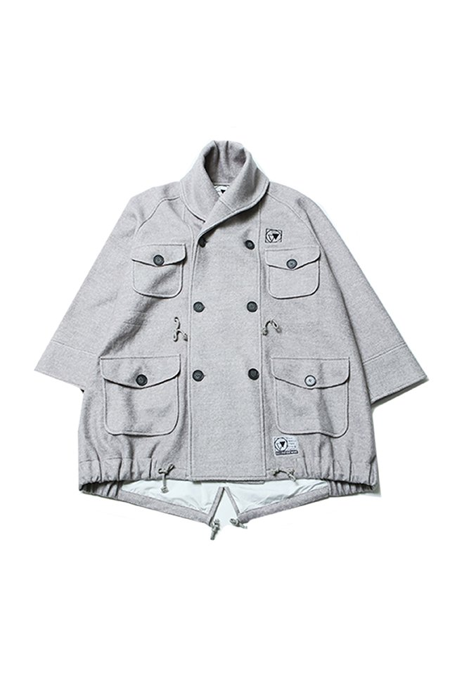 SILLENT FROM ME - WANDER -Millotary Coat (GRAY)「サイレントフロムミー」[コート]