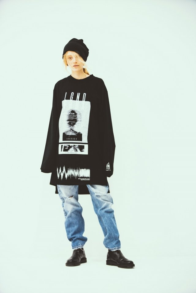 LEGENDA × PARADOX - LONG L/S TEE(visualize/BLACK)「パラドックス」[シャツ]