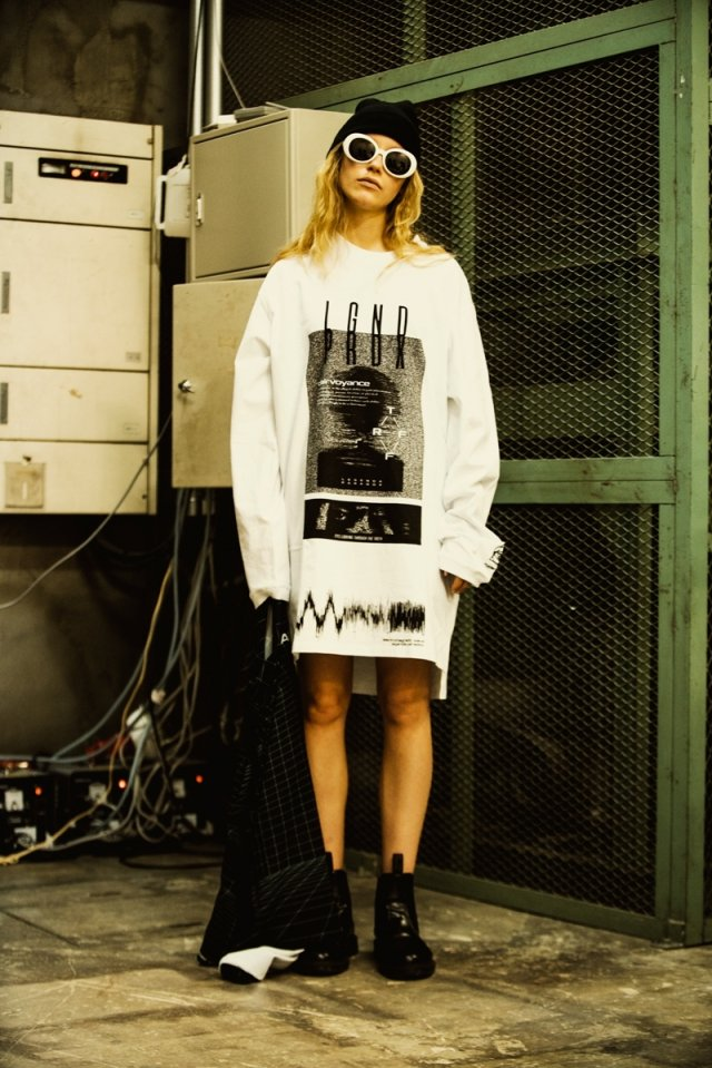 LEGENDA × PARADOX - LONG L/S TEE(visualize/WHITE)「パラドックス」[シャツ]