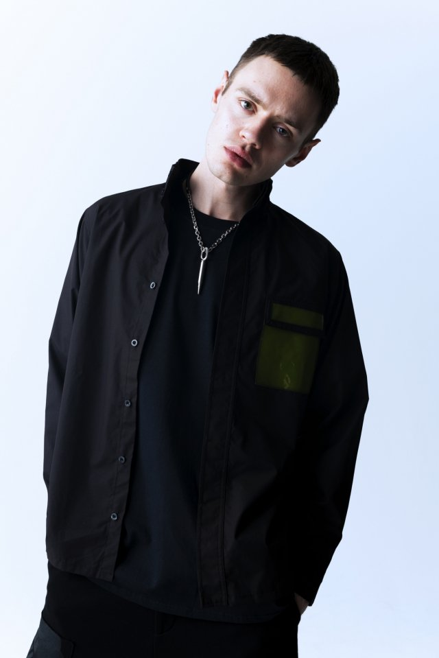 PARADOX - HIGHNECK SHIRTS (BLACK)「パラドックス」[シャツ]