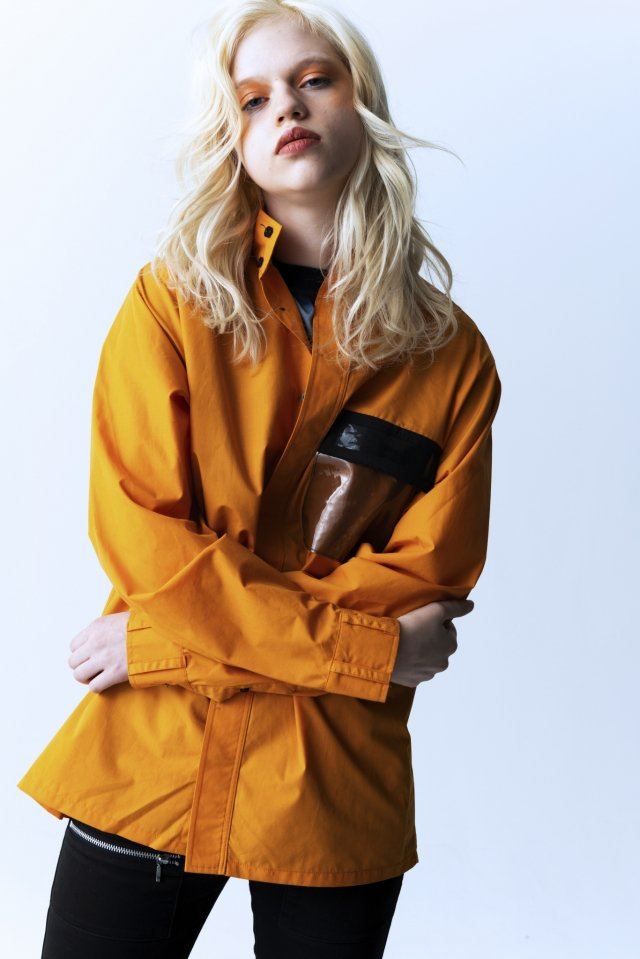 PARADOX - HIGHNECK SHIRTS (ORANGE)「パラドックス」[シャツ]