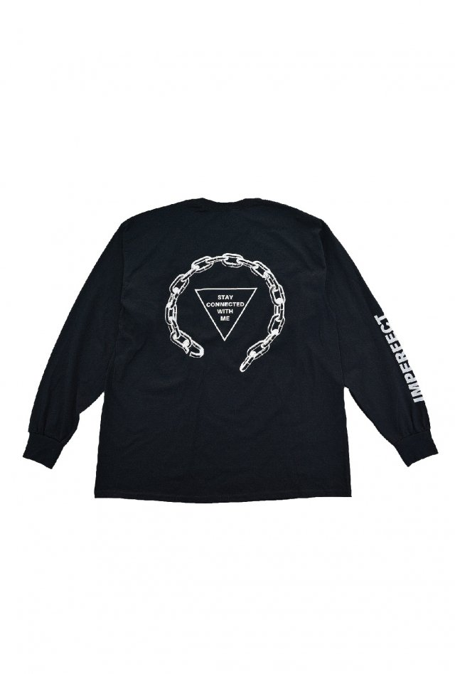PARADOX - PRINT L/S TEE (ASSOCIATION / BLACK)「パラドックス」[シャツ]