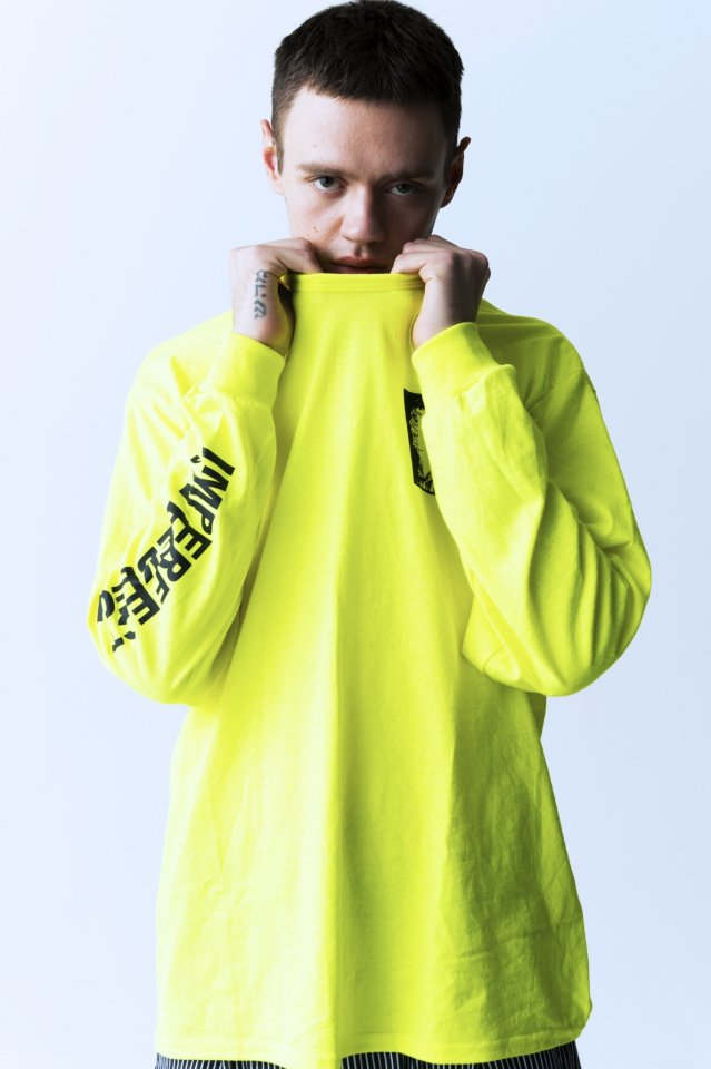 PARADOX - PRINT L/S TEE (ASSOCIATION / YELLOW)「パラドックス」[シャツ]