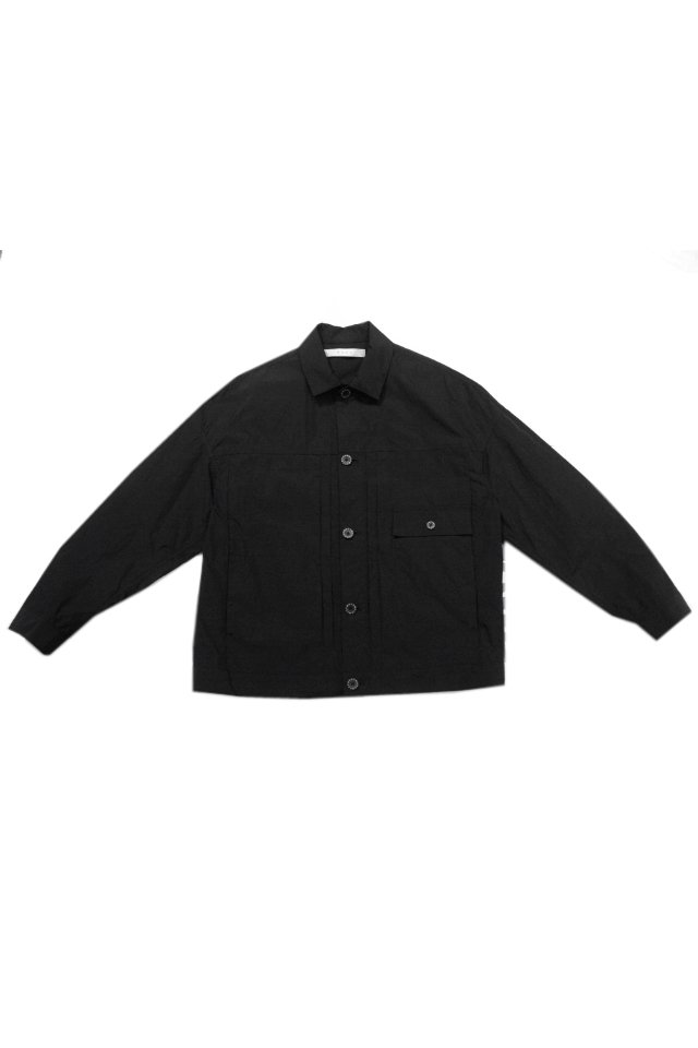 MUZE - 1ST NYLON JACKET(BLACK×BLACK)「ミューズ」[ジャケット]
