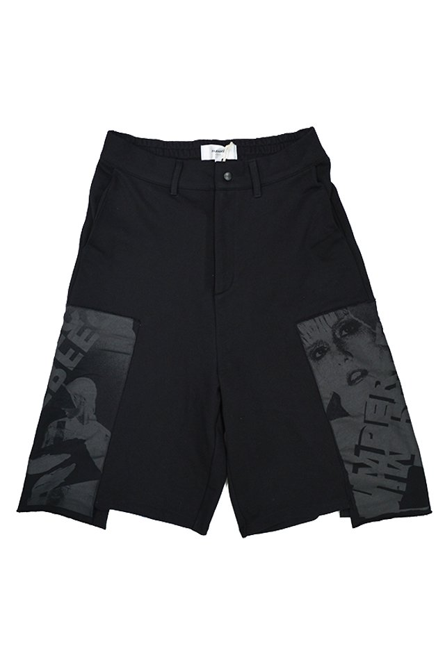 【20%OFF】PARADOX - SWEAT SHORTS (BLACK) 「パラドックス」[パンツ]