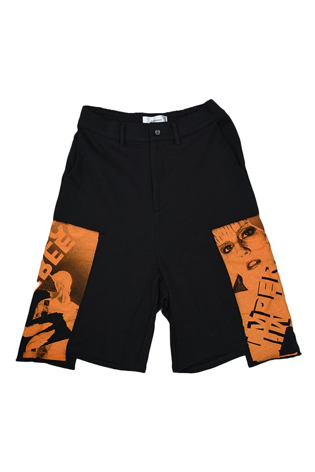 【20%OFF】PARADOX - SWEAT SHORTS (ORANGE) 「パラドックス」[パンツ]