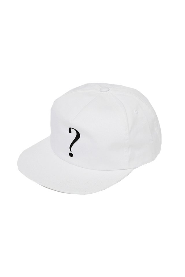 SILLENT FROM ME - QUERY -Snapback- (WHITE)「サイレントフロムミー」[キャップ]