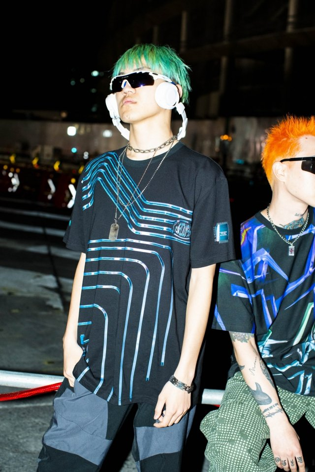 PARADOX×ryaw - GRAPHIC BIG TEE(LAYER)「パラドックス」[シャツ]