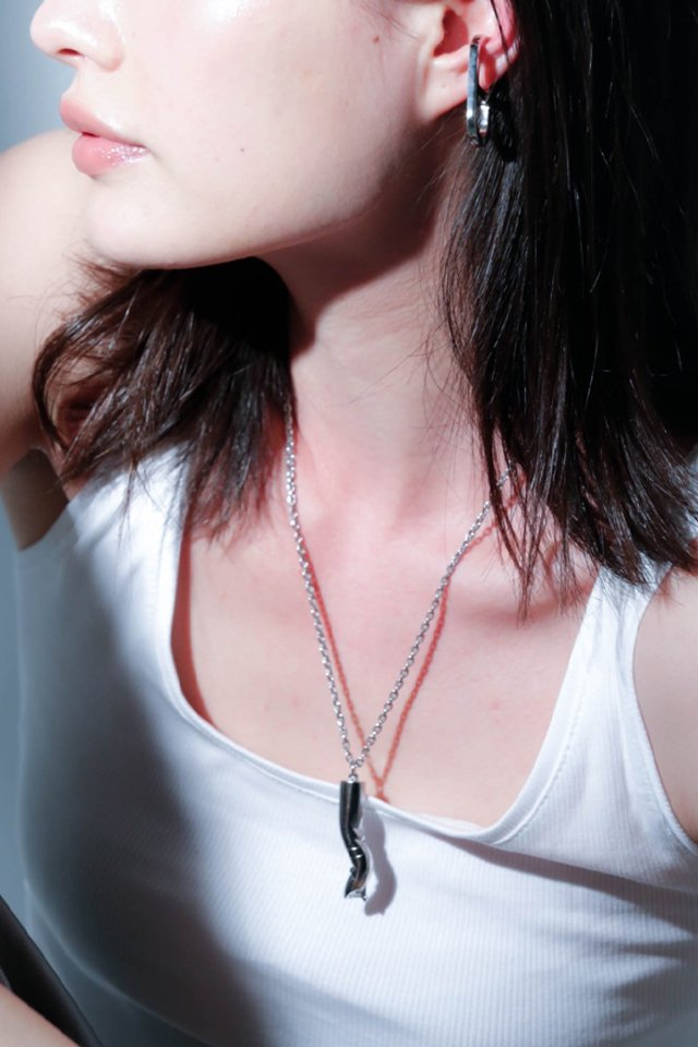 unclod - HIS CIGARETTE NECKLACE (SILVER)   「アンクロッド」[ネックレス]